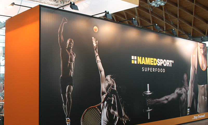 STAND NAMEDSPORT PER RIMINI WELLNESS