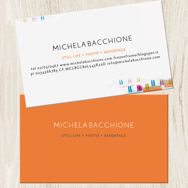 MICHELA BACCHIONE SITO WEB